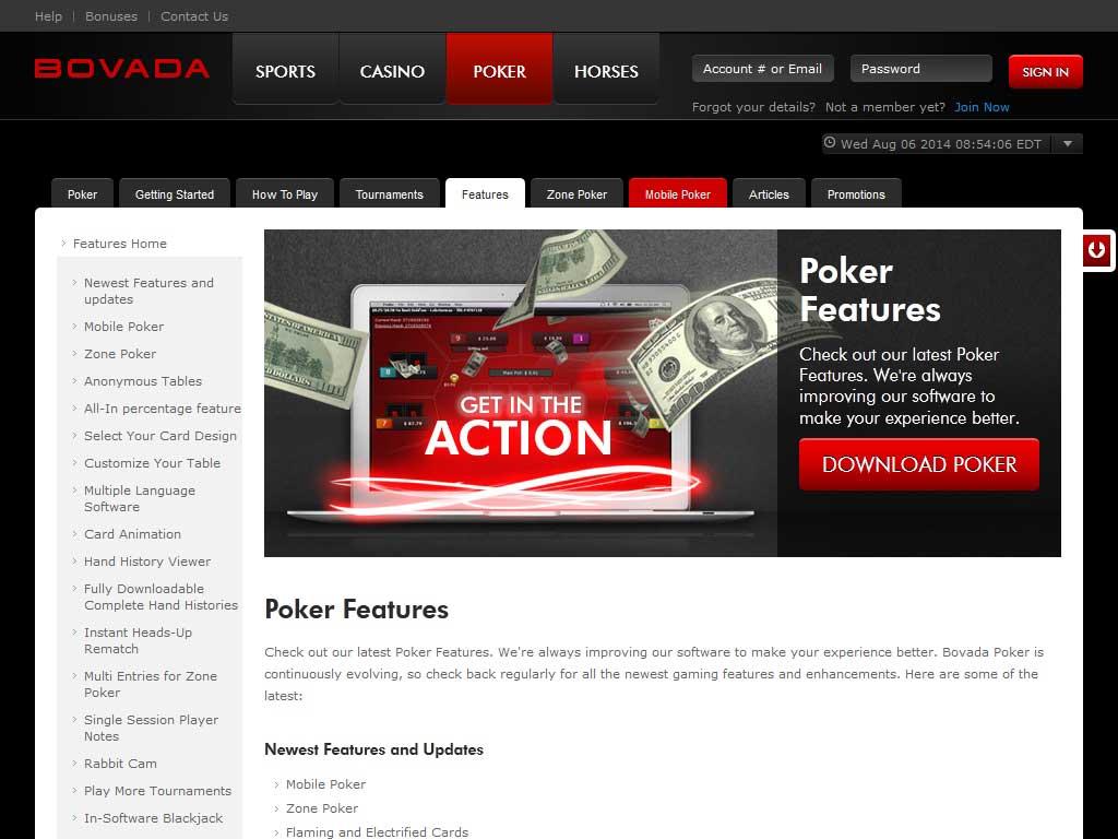 Mobile Apps – Bovada Poker Complete Mobile App Review | GamblingApps com